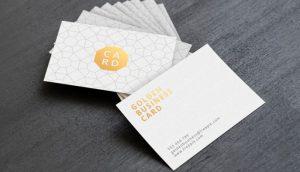 tarjetas de presentación para tu negocio